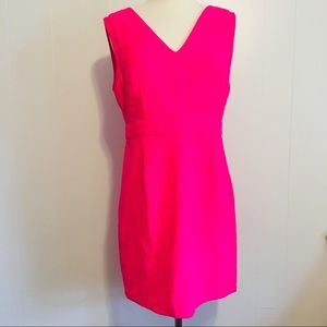 💕 Hot Pink Sleeveless Mini Dress Size Large
